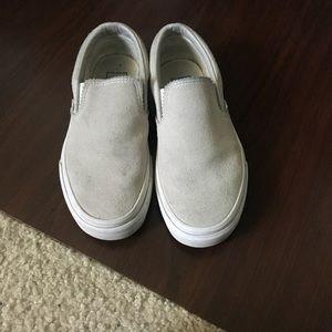Vans Shoes - Suede Slip Ons Vans
